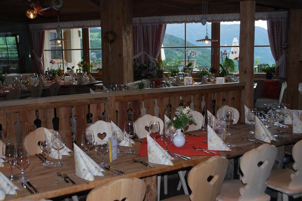Il ristorante Fiè allo Sciliar Buschenschank Pitschlmann
