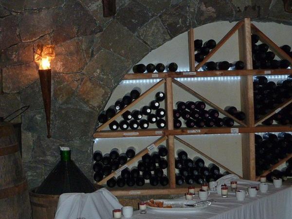 La cantina dei vini Fiè allo Sciliar Buschenschank Pitschlmann