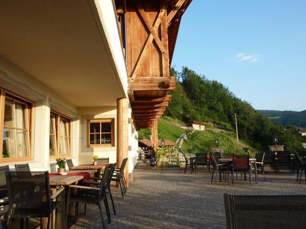 Foto esterno in estate Buschenschank Pitschlmann