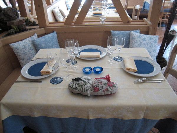 Il ristorante Malga Ciapela (Marmolada) Dovich