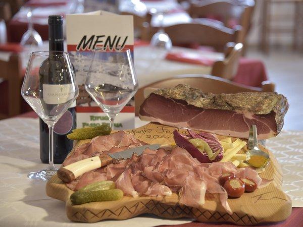 Ricette e proposte gourmet Passo Fedaia