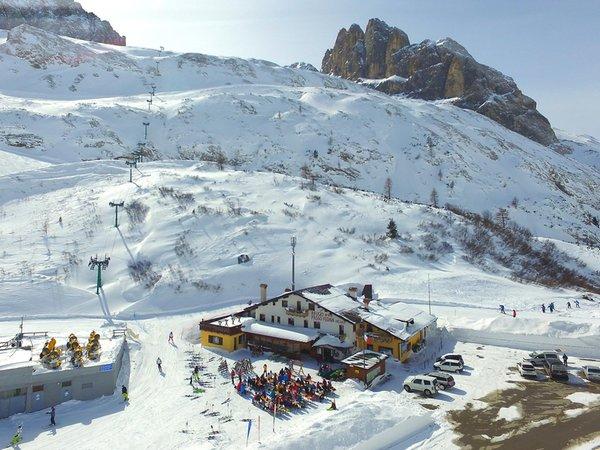 La posizione Rifugio Passo Fedaia Rocca Pietore (Marmolada)
