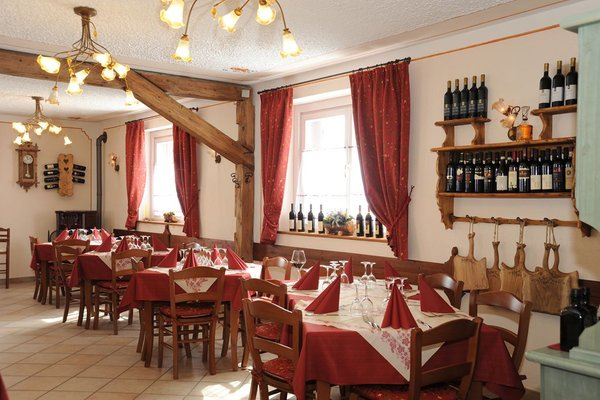 Il ristorante Rocca Pietore (Marmolada) Passo Fedaia