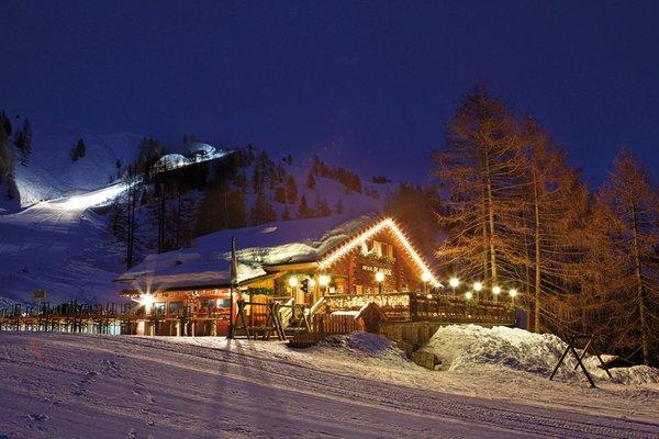 Foto invernale di presentazione Plan Boè - Rifugio