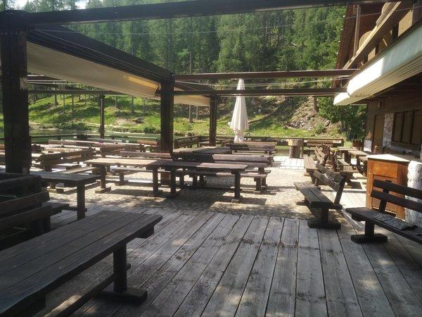 Präsentationsbild Restaurant Lago Ghedina
