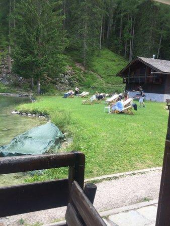 Foto vom Garten Cortina d'Ampezzo