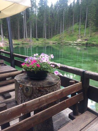 Foto einiger Details  Lago Ghedina
