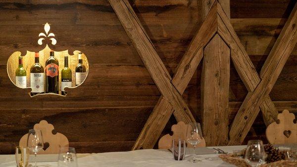 Das Restaurant Cortina d'Ampezzo Baita Fraina