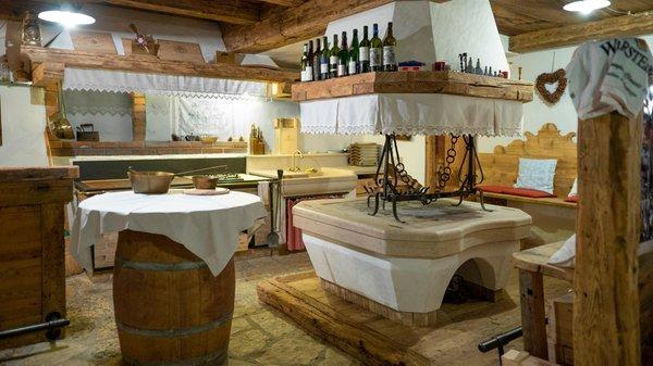 Foto der Küche Baita Fraina