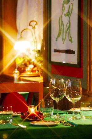 Il ristorante Cortina d'Ampezzo Villa Oretta