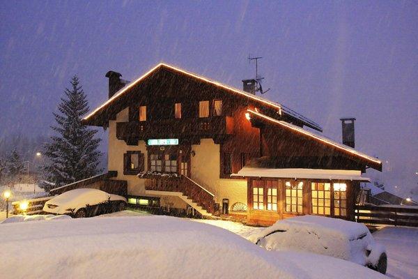 Foto invernale di presentazione Ristorante Villa Oretta
