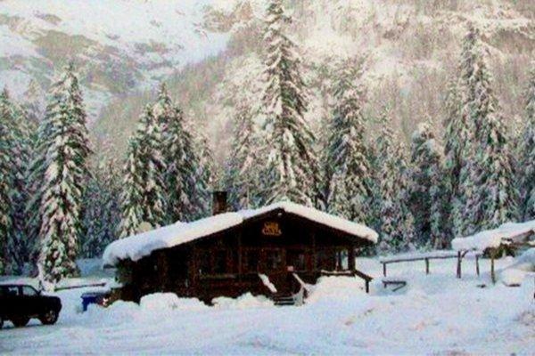 Winter Präsentationsbild Restaurant Chalet Passo Cimabanche