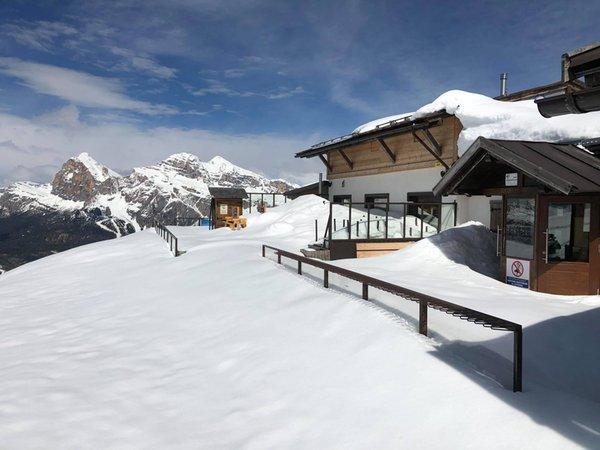 Foto Außenansicht im Winter Capanna Tondi