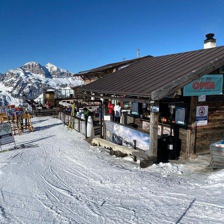 Winter Präsentationsbild Berghütte Capanna Tondi