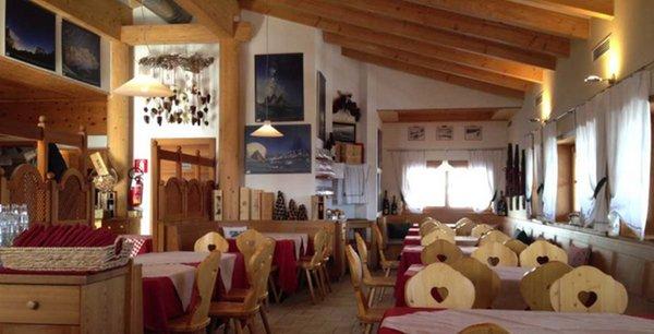 Il ristorante Cortina d'Ampezzo Col Drusciè