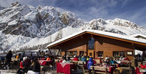 Foto esterno in inverno Col Drusciè