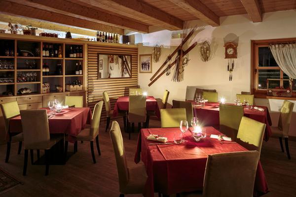 Il ristorante Cortina d'Ampezzo Peziè de Parù