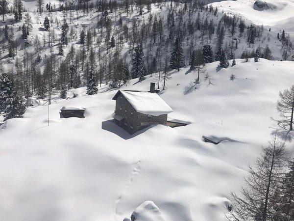 Foto Außenansicht im Winter Vandelli