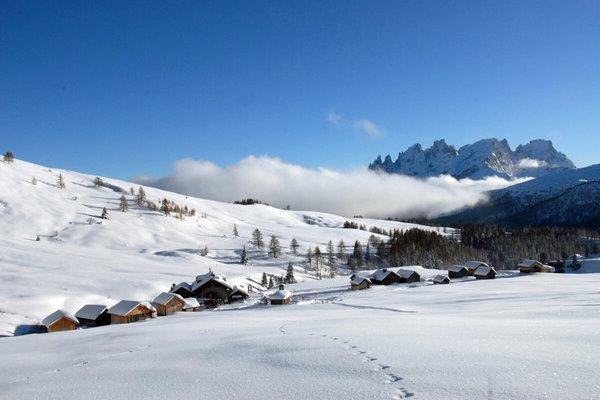 La posizione Rifugio Fuciade Passo San Pellegrino