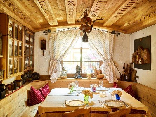 Il ristorante Passo San Pellegrino Fuciade