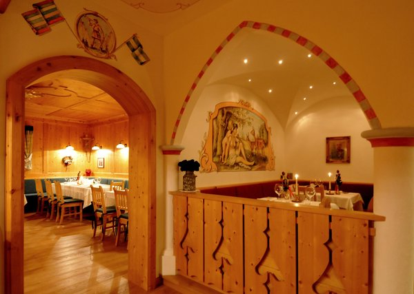 Il ristorante Pozza di Fassa La Stua de Jan