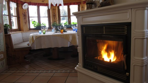 Il ristorante Passo San Pellegrino La Stua de Zach