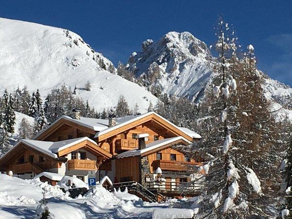 Foto invernale di presentazione Ristorante La Stua de Zach