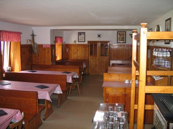 Das Restaurant Vigo di Fassa Vajolet