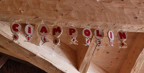 Foto di alcuni dettagli Ciampolin