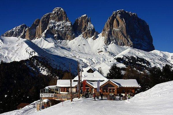 Foto invernale di presentazione Rifugio Ciampolin