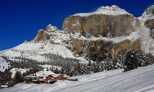 Foto esterno in inverno Ciampolin