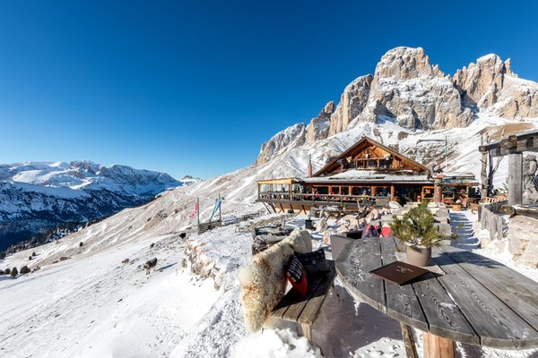 Winter presentation photo Mountain hut Friedrich August