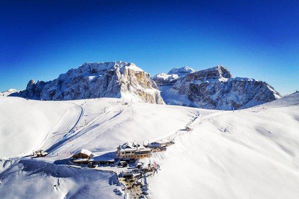 Position Mountain hut Friedrich August Campitello di Fassa