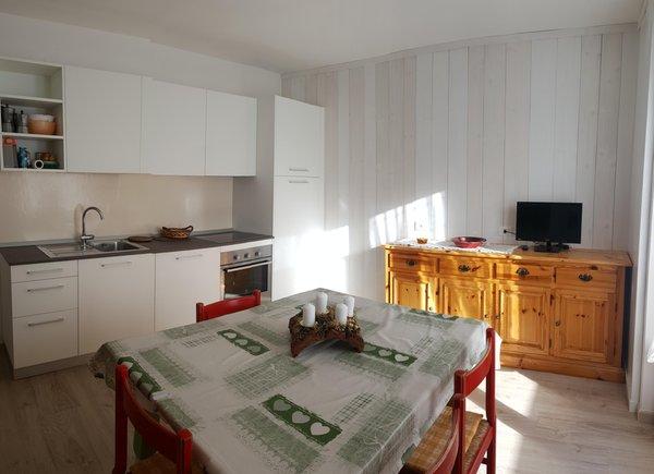 Foto della cucina Ciasa Enrosadira
