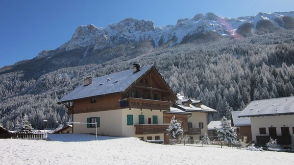 Foto invernale di presentazione Rossi Aldo - Appartamenti 3 genziane