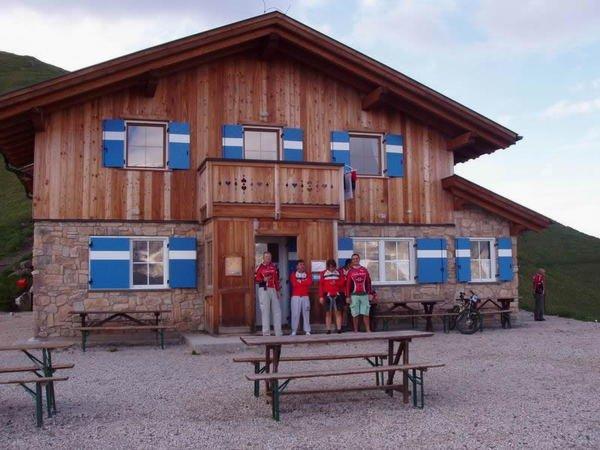Sommer Präsentationsbild Berghütte Viel dal Pan
