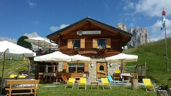 Foto estiva di presentazione Rifugio La Zondra