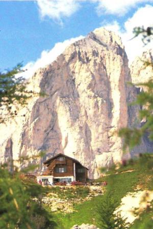 Sommer Präsentationsbild Berghütte Pederiva