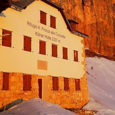 Foto Außenansicht im Winter Fronza alle Coronelle