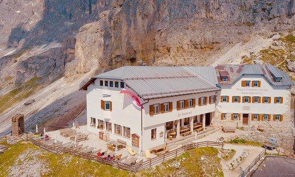 Sommer Präsentationsbild Berghütte Fronza alle Coronelle