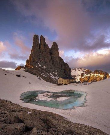 Photo exteriors in winter Re Alberto 1° - Gartlhütte
