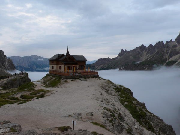 Präsentationsbild Berghütte Paul Preuss