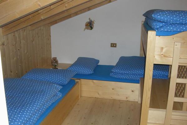 Foto vom Zimmer Berghütte Paul Preuss