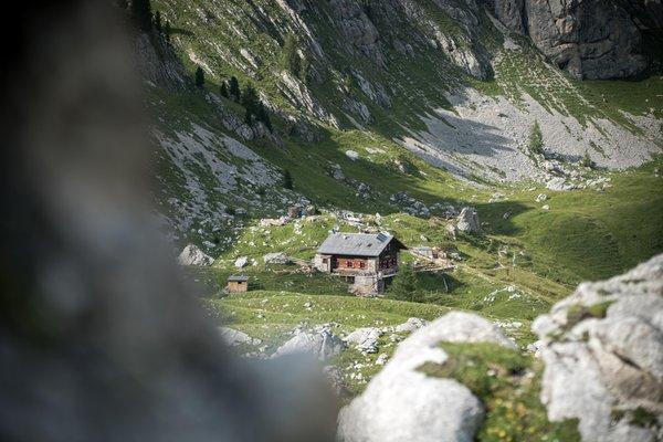 Position Mountain hut Vallaccia Pozza di Fassa