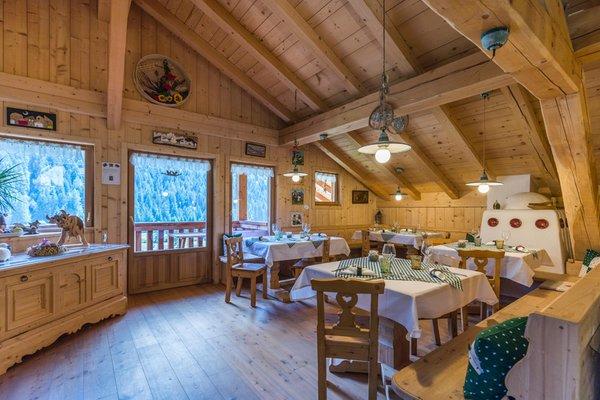 Das Restaurant Soraga Ciasa dò Paré