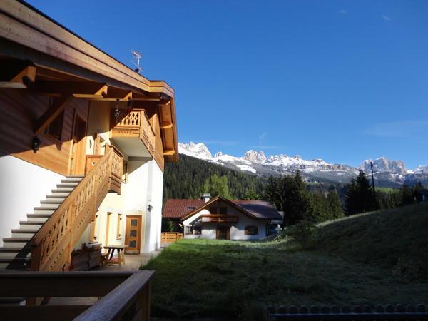 Foto esterno in estate Ciasa Ciampac