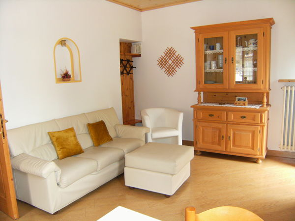 The living area Ciasa Stoffie - Apartments 4 gentians