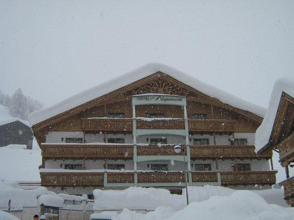 Foto invernale di presentazione Stube Ladina - Ristorante