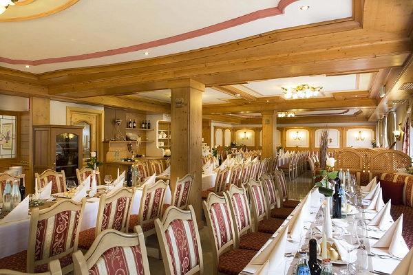 Il ristorante Arabba Stube Ladina