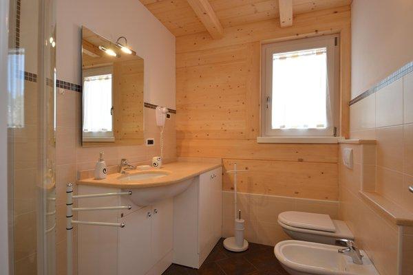 Foto del bagno Appartamenti Donei Pederiva Alessandra